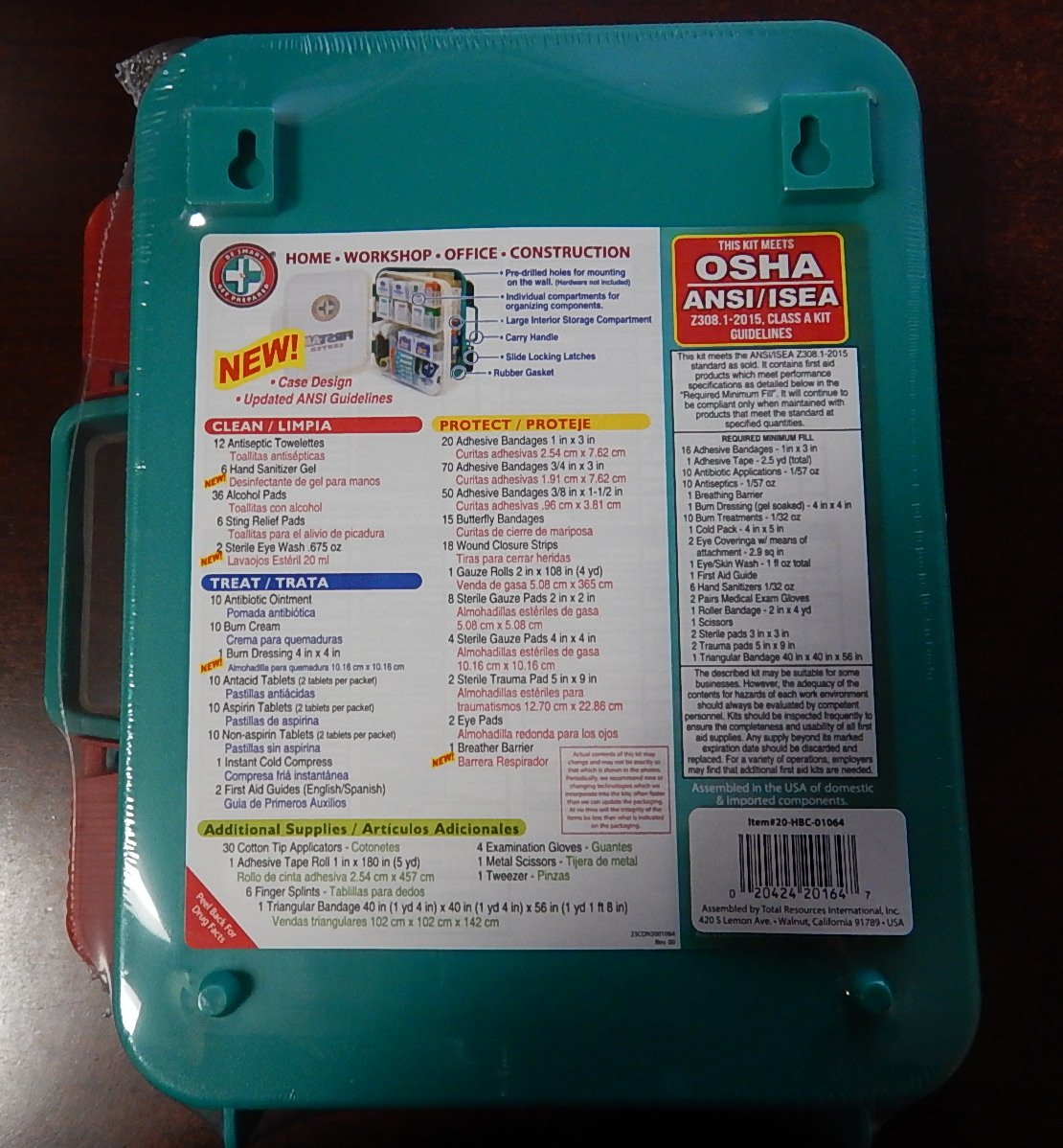 ada guidelines for first aid kit